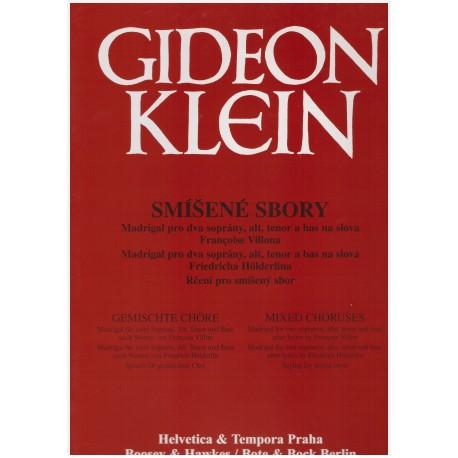 Klein G. - Smíšené sbory