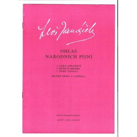Janáček - Ohlas národních písní