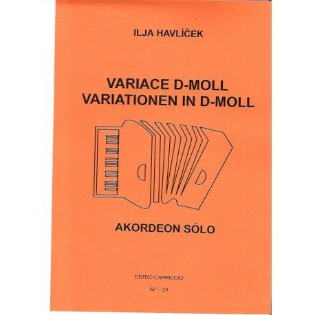 Havlíček Ilja-Variace d moll