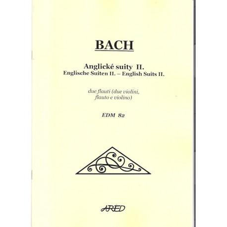 Bach J.S. - Anglické suity II