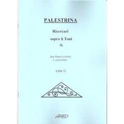 Palestrina - Ricercari sopra li Toni II