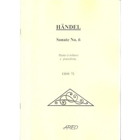 Handel G.F. - Sonáta No.6