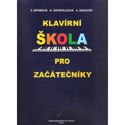 Bohmová - Klavírní škola pro začátečníky(BGS)