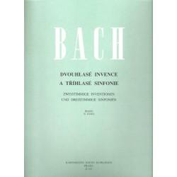 Bach J.S. - Dvouhlasé invence a tříhl.symf