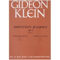 Klein G. - Smyčcový kvartet op.2
