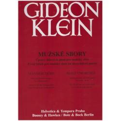 -Klein G.- Mužské sbory