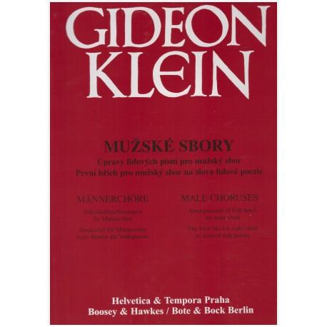 Klein G.- Mužské sbory