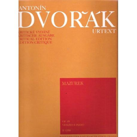 Dvořák A. - Mazurek