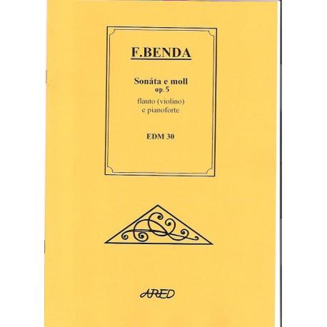 Benda F.- Sonáta e moll op.5