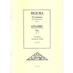 Rejcha-Stamic - Tři romance-Duo