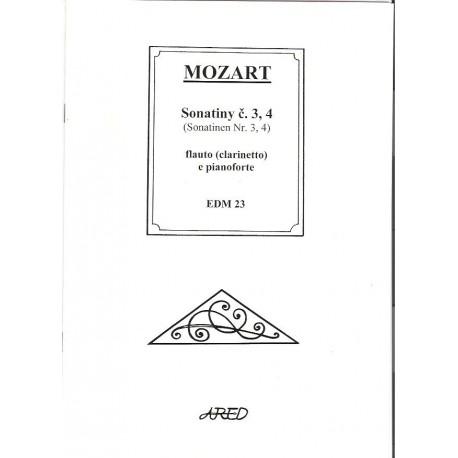 Mozart W.A. - Sonatiny 3 a 4