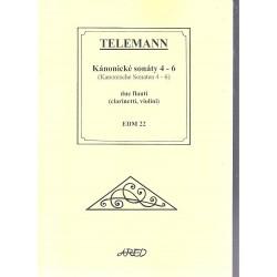 Telemann G.P.- Kánonické sonáty IV-VI