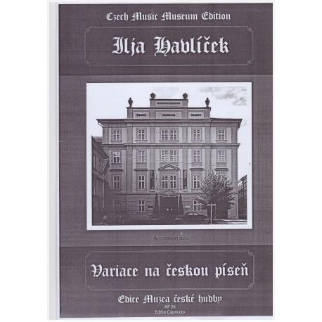 Havlíček Ilja - Variace na českou píseň