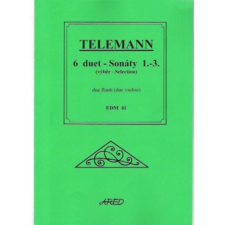 Telemann G.F. - 6 duet