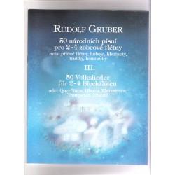 Gruber Rudolf-50 národních písní III