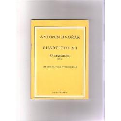 Dvořák A.- 12.kvartet F dur op.96 KP