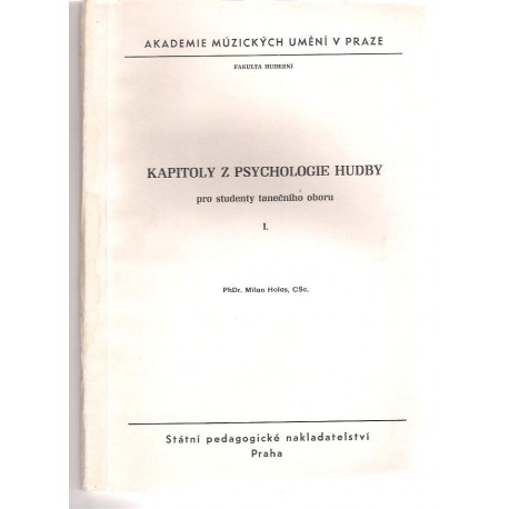 Holas M. - Kapitoly z psychologie hudby