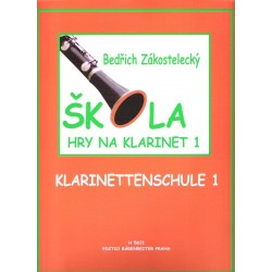 Zákostelecký Bedřich- Škola hry na klarinet I