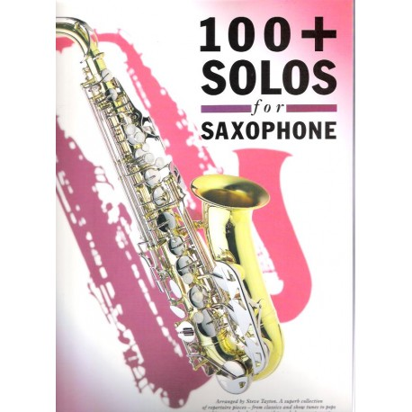 - 100 + Solos For Saxophone