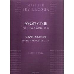 Bevilacqua M. - Sonáta Gdur  pro flétnu a kyta