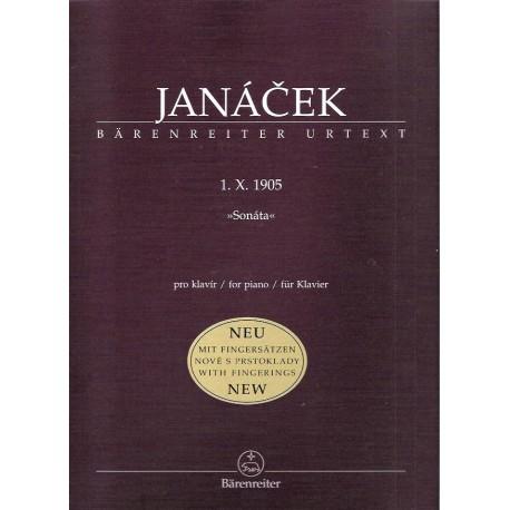 Janáček L. - Sonáta 1.X.1905