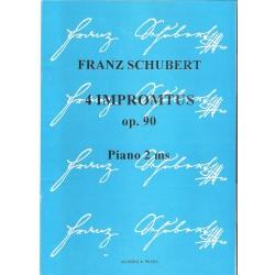 Schubert Franz-4 Imromptus op.90