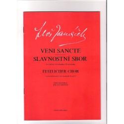 Janáček  L.- Slavnostni sbor Veni Sancte