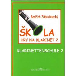 Zákostelecký Bedřich - škola hry na klarinet II