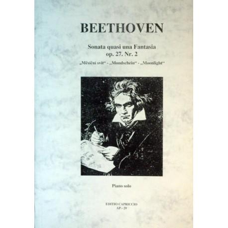 Beethoven L.v. - Sonata Quasi una Fantasia op.27,č II