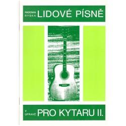 - Lidové písně pro kytaru II