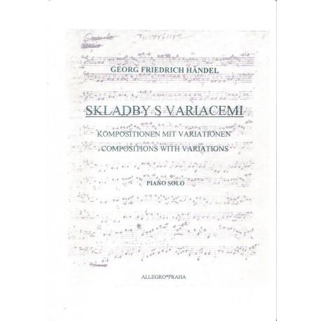 Handel Georg Friedrich-Skladby s variacemi