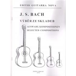 Bach J.S. - Výběr skladeb pro kytaru