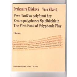 Křížková D. - 1.knížka polyfonní hry