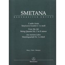 Smetana Bedřich-Smyčcový kvartet č.1 e moll