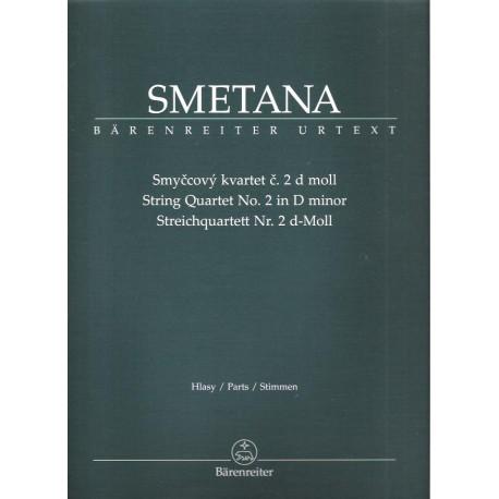Smetana Bedřich-Smyčcový kvartet č.2 d moll