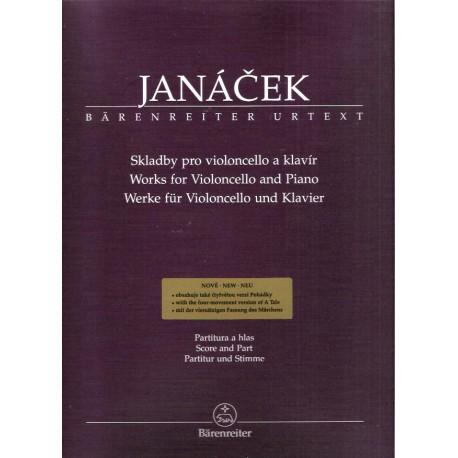 Janáček L.- Skladby pro violoncello a klavír