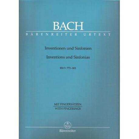 Bach J.S.- Invence a sinfonie