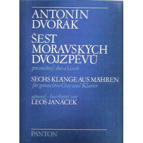 Dvořák A.- Šest moravských dvojzpěvů